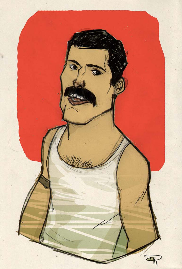 Freddie Mercury by DenisM79