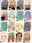 STAR WARS Sketchcards - Greedo and Co