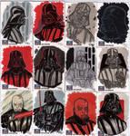 STAR WARS Sketchcards - Darth Vader