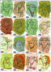 STAR WARS Sketchcards - Yoda