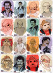 STAR WARS Sketchcards - Lando and Co