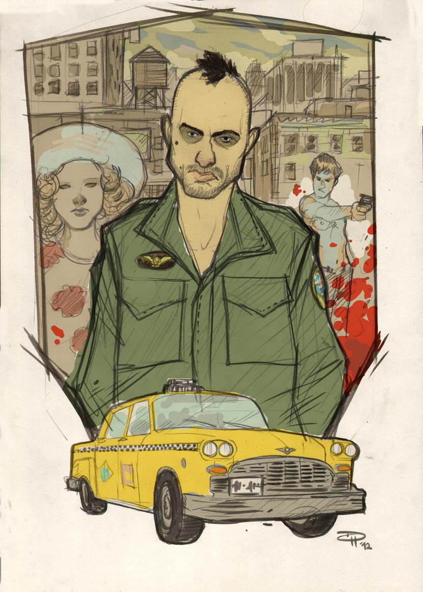 Taxi Driver by DenisM79