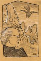 Jean Giraud Moebius  1938-2012 by DenisM79