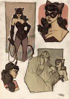 Catwoman Rockabilly by DenisM79
