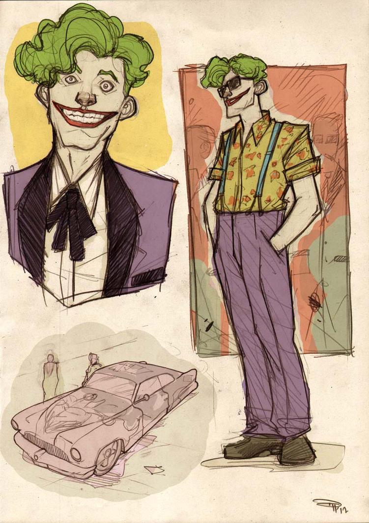 Joker Rockabilly by DenisM79