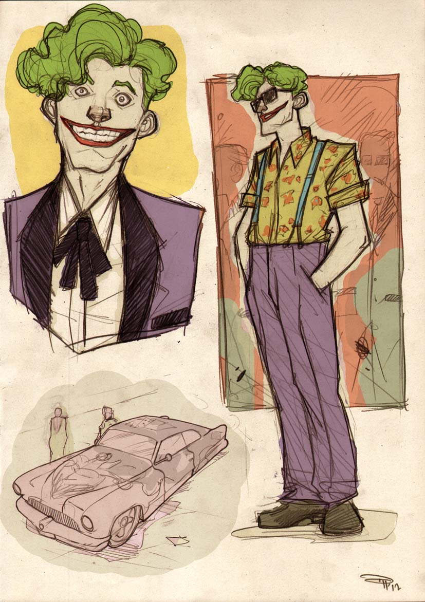 Joker Rockabilly by DenisM79