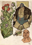 Poison Ivy and Bane Rockabilly