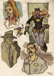 Batgirl-Gordon-Alfred Rockabilly