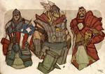 AVENGERS Fantasy Re-design 1