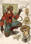 Spider-Man Steampunk Re-Design