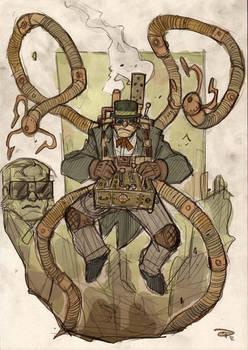 Doctor Octopus Steampunk Re-Design