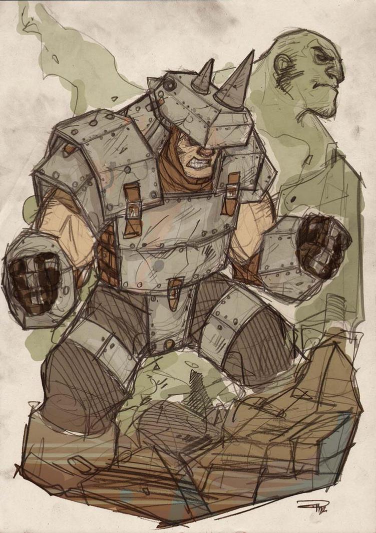 Rhino Steampunk