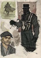Venom Steampunk Re-Design by DenisM79