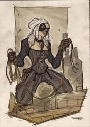 Black Cat Steampunk Re-Design