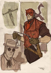 Dare Devil Steampunk Re-Design by DenisM79