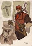 Dare Devil Steampunk Re-Design
