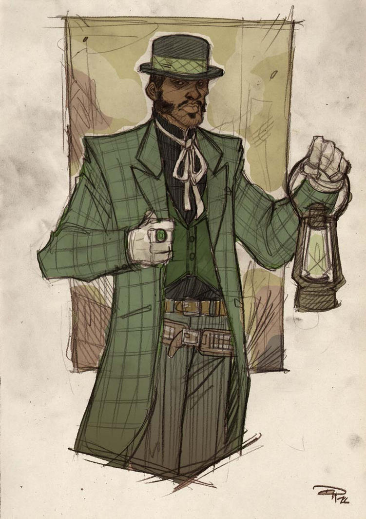 Green Lantern-Old West