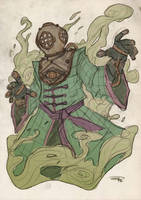 Mysterio Steampunk Re-Design by DenisM79