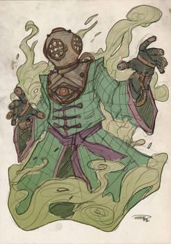 Mysterio Steampunk Re-Design