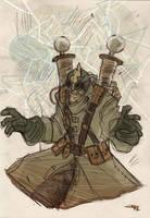 Electro Steampunk Re-Design by DenisM79