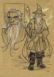 THE HOBBIT - Gandalf sketch by DenisM79