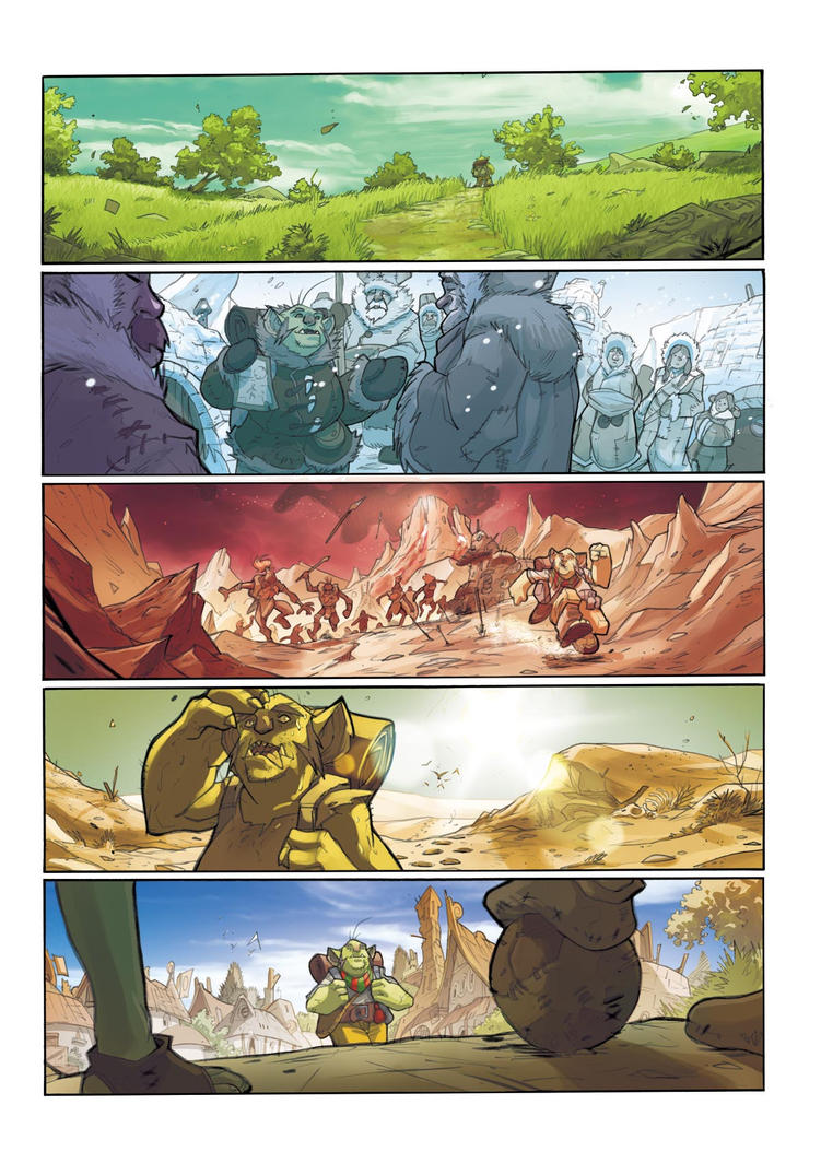 GOLEADOR tome 1 - page 1 Color by DenisM79