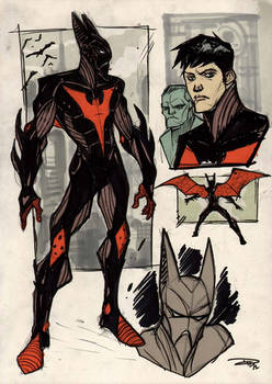 Batman Beyond Re-Design