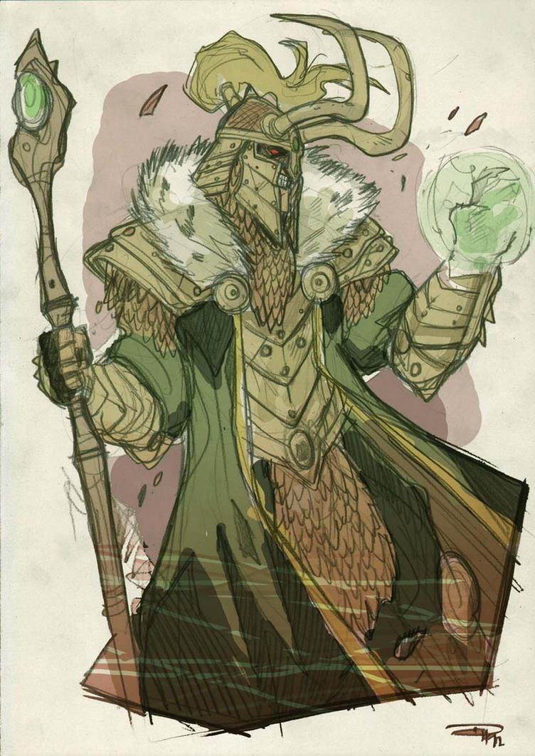 Loki Fantasy Re-design by DenisM79