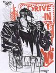 Batman Rockabilly - sketch