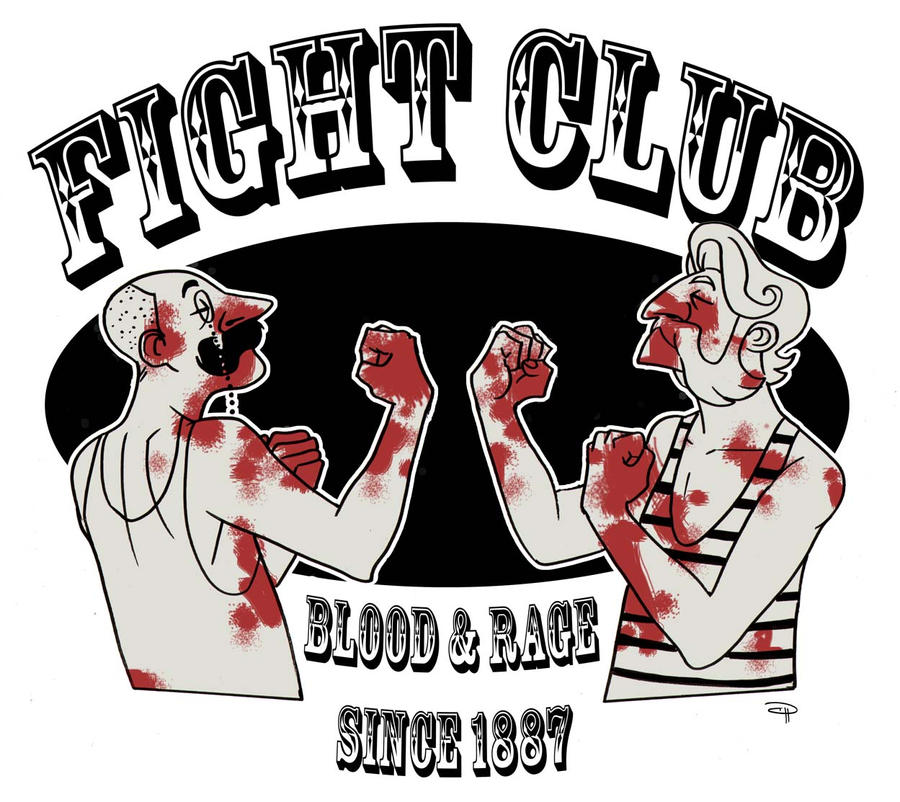 Fight Club 19th Century by DenisM79