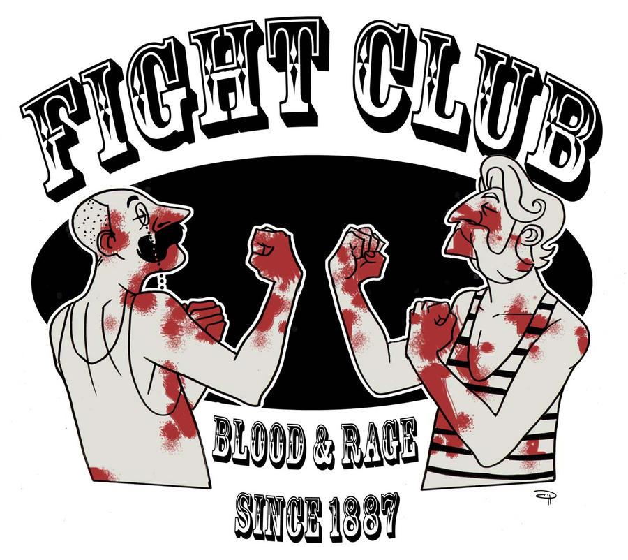 Fight Club 19th Century by DenisM79