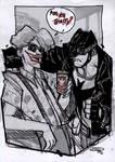 Batman and Joker - Rockabilly Universe