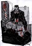 Batman Rockabilly alley sketch