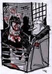 Batman VS Penguin - Rockabilly Universe