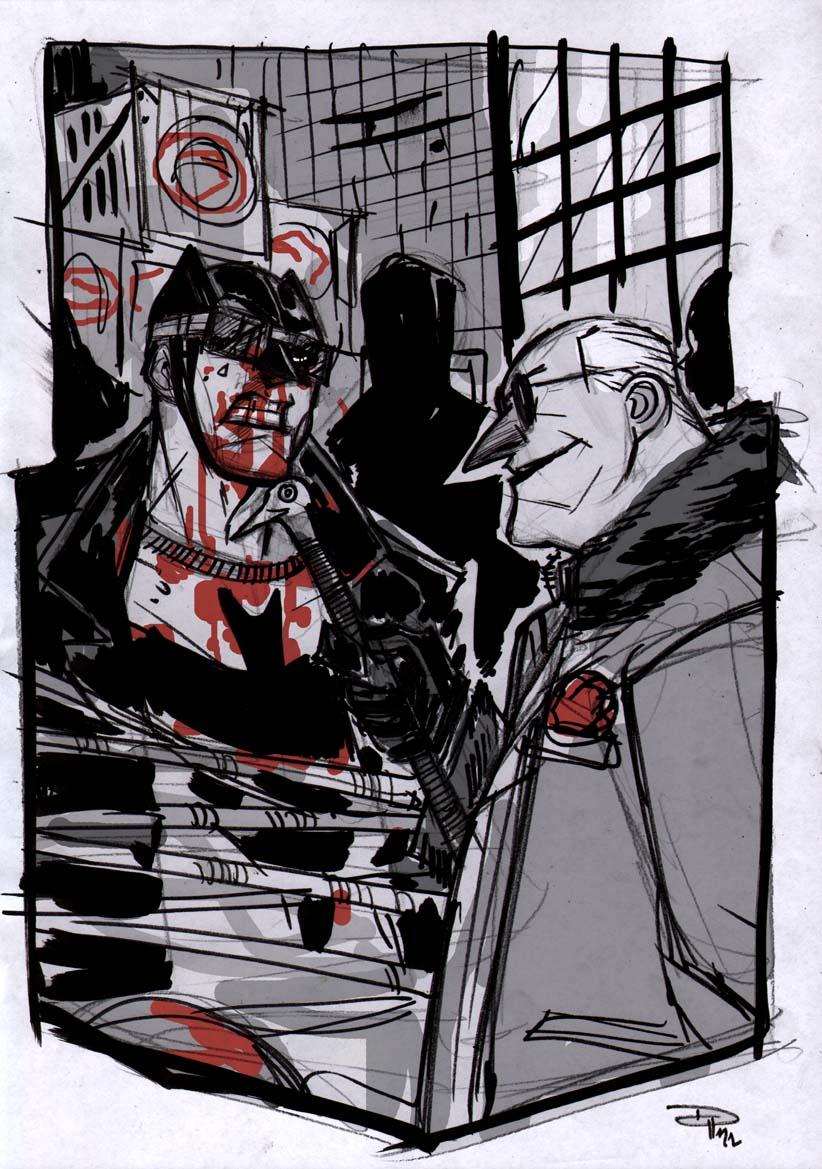 Batman VS Penguin - Rockabilly Universe by DenisM79