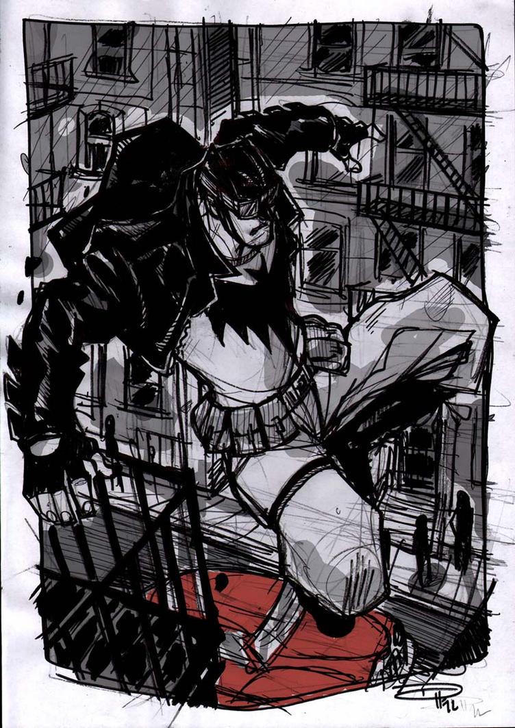 Batman Rockabilly by DenisM79