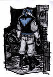 Nightwing - Rockabilly Universe