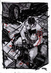 Batman wounded - Rockabilly Universe