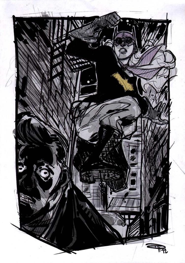 Batgirl - Rockabilly Universe by DenisM79