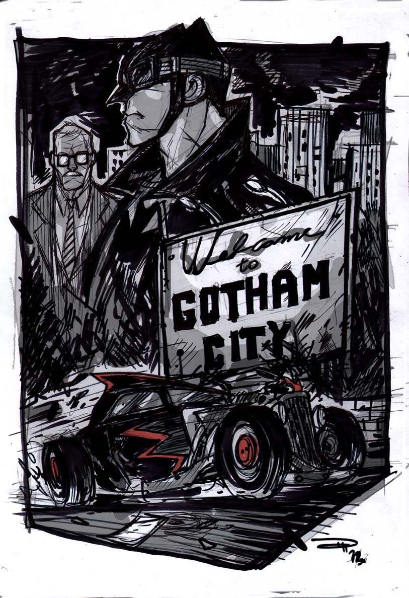 Gotham City - Rockabilly Universe by DenisM79