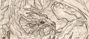 THE HOBBIT - Smaug detail