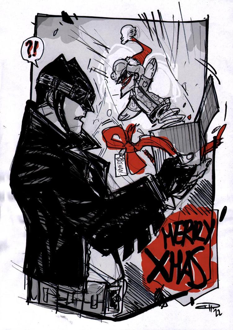 Merry Bat-Xmas by DenisM79