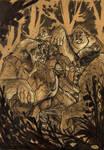 THE HOBBIT by Denis Medri - Trolls