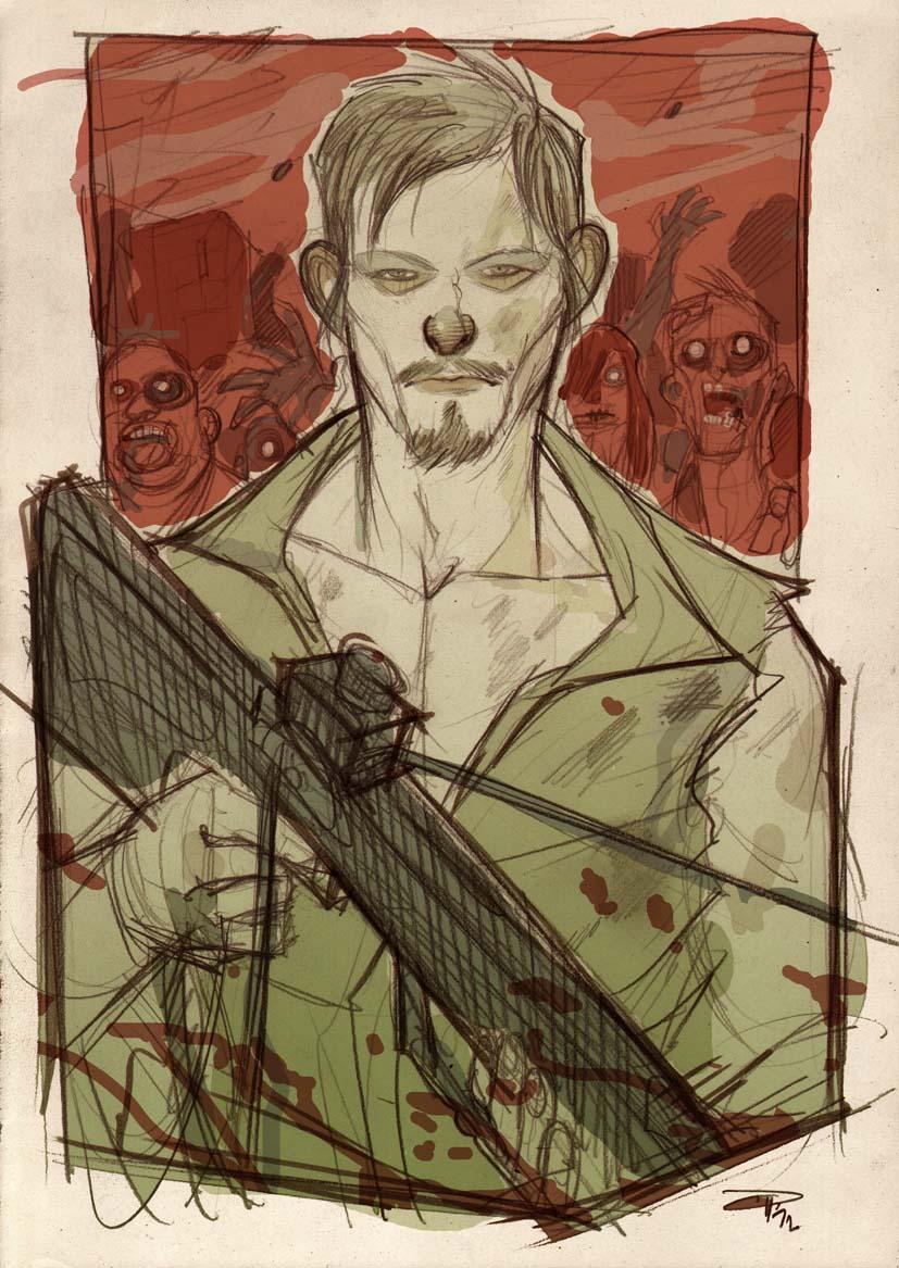 Daryl - The Walking Dead by DenisM79