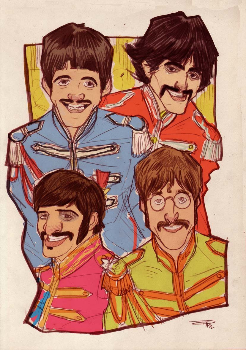The Beatles - Sgt Pepper by DenisM79