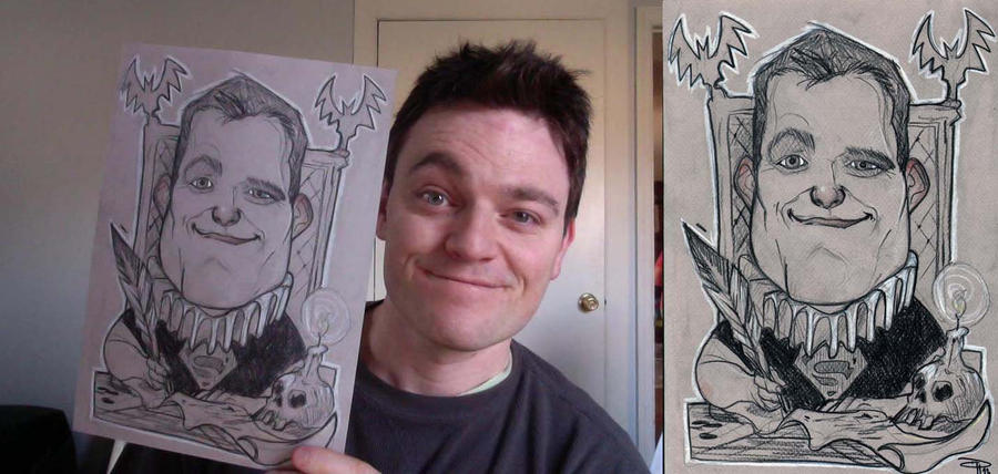 Scott Snyder - Birthday Caricature by DenisM79