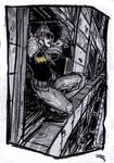 Batgirl by night - rockabilly Universe