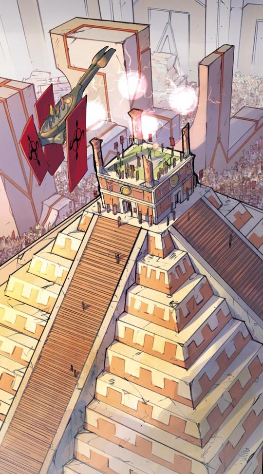 ATLANTIS - The Las Survivor  - panel detail by DenisM79