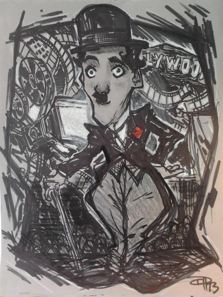 Charlie Chaplin by DenisM79