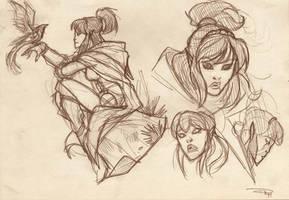 DRAGONERO - Myrva sketch 2011